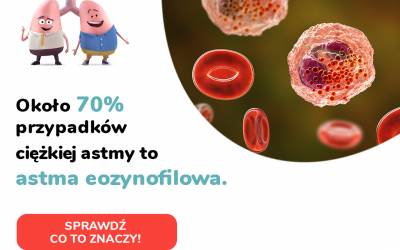 Akcja diagnostyczna dla pacjentów z astmą ciężką